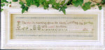 04-2533 Rose In Morning, The by Little House Needleworks
