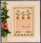 05-1866 Rose Sampler by Little House Needleworks