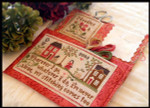 09-1153 Traveling Stitcher (w/floss) by Little House Needleworks