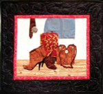 More The Merrier Designs Cowgirl Accessories (Quilt) 26 1/2 x 31