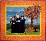 More The Merrier Witches Party (Quilt) 31 x 34 1/2