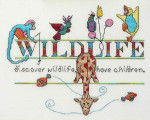 MarNic Designs Welcome Wildlife Size: 112w x 94h
