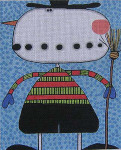 "M-776 Maggie & Co. Crazy Snowman  © Frank Bielec 8 x 10"" 18M"