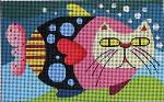"M-1087 Maggie & Co. Catfish © Barbara Goodrich/Carriage House Crafts 5 x 8"" 13M"