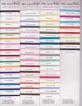 Rainbow Gallery Silk Lame Braid 18 SL07 Pink