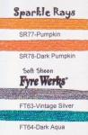 Rainbow Gallery Fyre Werks Soft Sheen FT64 Dark Aqua