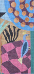 "M-1414 Maggie & Co. The Neighborhood Woodpecker © Lisa Houck 3-1/2 x 7-1/2"" 18M"