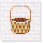 "MBM-CO 32 Coaster Nantucket Basket 18 Mesh  4"""" Melinda B. McAra"