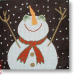 """LM-PL 09 Let it Snow-Man  13 Mesh 12"""" Laura Megroz"""