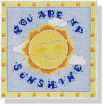 "MBM-PL38 You are My Sunshine 13 Mesh 9"" Melinda B. McAra"