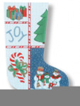 R-C1010 Christmas Day 13 Mesh 17.5 Needlepoint Boutique Designs