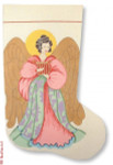 CBK Designs Needlepoint Boutique Designs R-C1013 Angel II 13 Mesh 17""