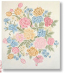 "R-P1012 Springtime 18 Mesh 15"" Needlepoint Boutique Designs"