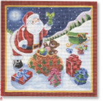 Michele Noiset MN-PL 09 Santa with Presents 18 Mesh 6.5""