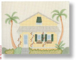 "R-P1015 Key West I 18 Mesh 10 x 8"" Needlepoint Boutique Designs"
