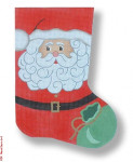 R-C1009 Santa & Toys 13 Mesh 17.5 Needlepoint Boutique Designs