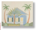 "R-P1016 Key West II 18 Mesh 10 x 8"" Needlepoint Boutique Designs"