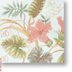 "R-P1029 Tropical Flower 13 Mesh 12"" Needlepoint Boutique Designs"