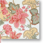 "R-P1026 Pink Floral 13 Mesh 12"" Needlepoint Boutique Designs"