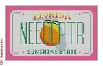 "CBK Designs Starke Art Designs SA-ML 01 Florida Mini-License Plate 18 Mesh 5.5 x 3.25"""
