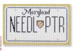 "CBK Designs Starke Art Designs SA-ML 22 Maryland Mini-License Plate 18 Mesh 5.5 x 3.25"""