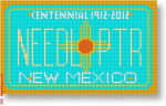 "CBK Designs Starke Art Designs SA-ML 37 New Mexico 18 Mesh 5.5 x 3.25"""