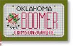 "CBK Designs Starke Art Designs SA-ML 40 BOOMER-Oklahoma 18 Mesh 5.5 x 3.25"""