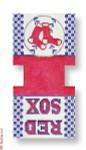 "CBK Designs Starke Art Designs SA-MT06 Red Sox 13 Mesh 4.5 x 9"""