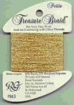 Rainbow Gallery Treasure Braid Petite PB03 Gold