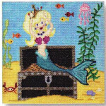 "CBK Designs Starke Art Designs SA-PL 11 Mermaid and Chest 13 Mesh 8"""
