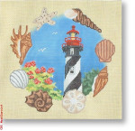 "CBK Designs Starke Art Designs SA-PL 31 St. Augustine Lighthouse - FL 13 Mesh 10"""