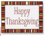 "CBK Designs Starke Art Designs SA-SS 17 Happy Thanksgiving 18 Mesh 5.75 x 4.5"""