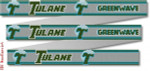 "123 Tulane University Belt 18 Mesh 35 x 1.25"" CBK Designs Keep Your Pants On"