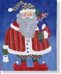 """JJM-PL 10 Santa 18 Mesh 10x13"""" Janis J. Mattox"""