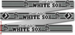 "119 Chicago White Sox Belt 18 Mesh 35 x 1.25"" CBK Designs Keep Your Pants On"