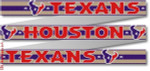 "115 Houston T exans Belt 18 Mesh 35 x 1.25"" CBK Designs Keep Your Pants On"