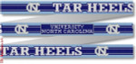 "101 Univ.of North Carolina-Tar Heels Belt 18 Mesh 35 x 1.25"" CBK Designs Keep Your Pants On"