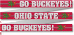 "107 Ohio State ""Go Bucks"" Belt 18 Mesh 35 x 1.25"" CBK Designs Keep Your Pants On"