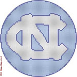 "521 University of North Carolina Logo 18 Mesh 4"" Rnd. CBK Designs Keep Your Pants On"