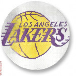 "1001  L.A. Lakers 18 Mesh 4"" Rnd. CBK Designs Keep Your Pants On"
