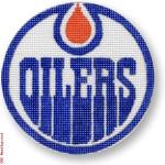 """1009 Edmonton Oilers - Hockey 18 Mesh 4"""" Rnd. CBK Designs Keep Your Pants On"""