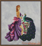 Cross Stitching Art Eleni, The Beauty Of Troy Size: 171w x 197h