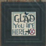 Glad You Are Here Size: 50w x 50h Bent Creek