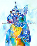 12-2096 Boxer Blues by Heaven And Earth Designs  Size: 350w x 430h