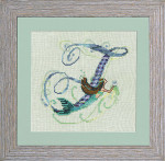 13-2556 Letter From Mermaid-F Size: 97w x 85h Nora Corbett