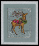 "NC114 Nora Corbett Donner - Christmas Eve Couriers Approximate size 5"" w x 6.25"" h"