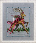 "NC115 Nora Corbett Dancer  Christmas Eve Couriers Approximate size 5"" w x 6.25"" h"