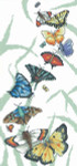 10-1496 Butterfly Parade by Vickery Collection 108 x 230