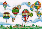 05-1329 Balloon Festival by Vickery Collection