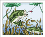 14-1069 Bass Attack by Vickery Collection 128 x 160